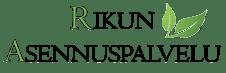 Rikun Asennuspalvelu Logo